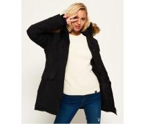 Damen Ashley Everest Mantel schwarz