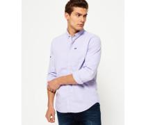 Herren Ultimate Oxford-Hemd lila