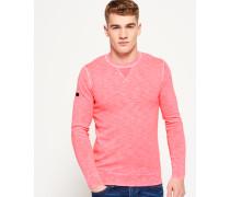 Herren Garment Dyed L.a. Crew Neck Sweatshirt pink
