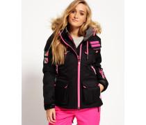 Damen Ultimate Snow Service Jacke schwarz