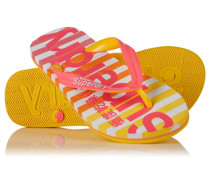 Damen Eva Stripe Flipflops pink