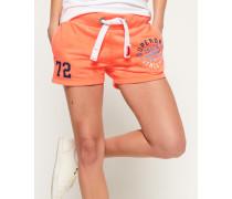 Damen Leichte Track & Field Shorts orange