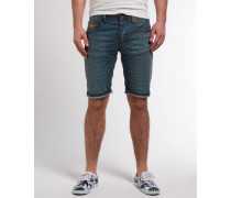 Herren Officer Slim Shorts x Dunkelblau