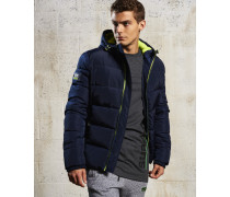Herren Sports Pufferjacke marineblau