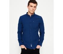 Herren Shoreditch Button-Down-Hemd marineblau
