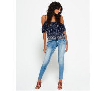 Damen Cassie Skinny Jeans hellblau