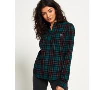 Damen Lumberjack Hemd grün
