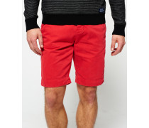 Herren International Chino Shorts rot