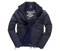 Herren Quilted Arctic Windcheater-Jacke marineblau
