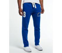 Herren Leeds Rhinos Rugby Jogginghose blau
