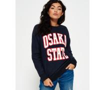 Damen Osaka State Rundhals-Sweatshirt marineblau