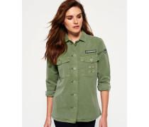 Damen North Military Hemd grün