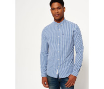 Herren London Button-Down Hemd blau