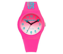 Damen Urban Laser Uhr pink
