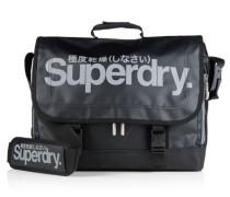 Herren Super Pop Tarp Laptop-Tasche schwarz