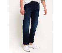 Herren Straight Jeans blau