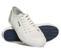 Herren Niedrige Pro Retro Sneaker weiß