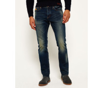 Herren Officer Jeans marineblau