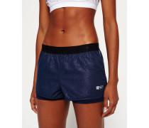 Damen Gym Shorts marineblau