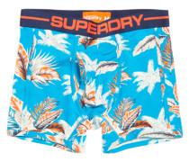 Herren Hawaiian Sport Boxershorts blau