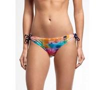Damen Rainbow Palm Bikinihöschen orange