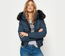 Damen Everest Ella Bomberjacke blau
