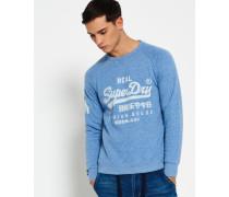 Herren Premium Goods Sweatshirt blau