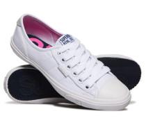 Damen Low Pro Sneaker weiß