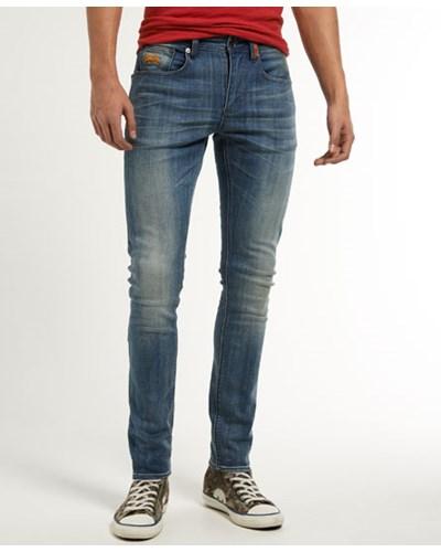 superdry herren superdry herren super skinny jeans x dunkelblau 50 reduziert. Black Bedroom Furniture Sets. Home Design Ideas