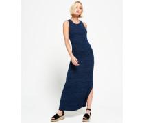 Damen Essential Maxikleid marineblau