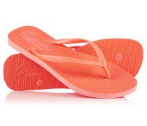 Damen Sleek Flipflops koralle