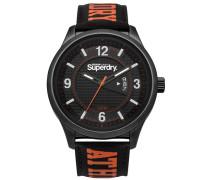 Herren Yokohama Athletic Armbanduhr schwarz
