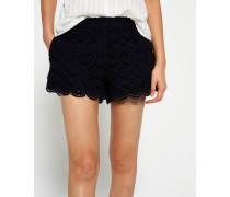Damen Lace Shorts marineblau