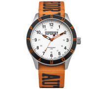 Herren Yokohoma Ranger Armbanduhr orange