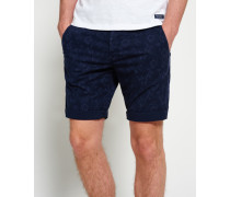 Herren International Globe Trotter Shorts marineblau