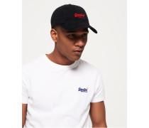 Herren Orange Label Mütze schwarz