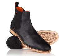 Herren Meteor Chelsea Boots schwarz
