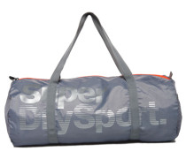 Damen Super Sport Gym Barrel Tasche hellgrau