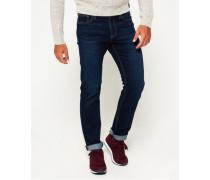 Herren Gerade geschnittene Jeans blau