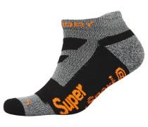 Herren Kurze, ergonomische Socken schwarz