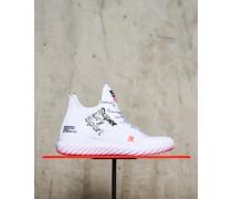 Damen Nebulus Hybrid High Sneaker weiß