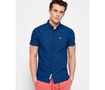Herren Ghost Button-Down-Hemd blau