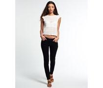 Damen Cassie Skinny Jeans schwarz