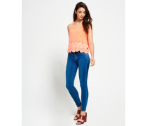 Damen Alexia Jegging Jeans blau