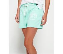 Damen Athletic League Loopback Shorts grün