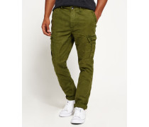 Herren Surplus Goods Low Rise Cargohose grün