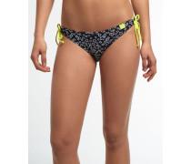 Damen Star Fish Bikinihöschen schwarz