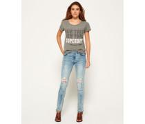Damen Imogen Slim Jeans blau