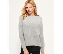 Damen NYC Sparkle Strickpulli grau