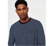 Herren Lite Loom City Stripe Long Sleeve T-Shirt blau